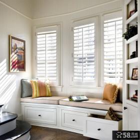 主卧飘窗装修效果图 阁楼飘窗设计图片