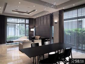 宜家风格公寓餐厅室内设计效果图片