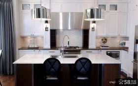 现代风格复式楼时尚的厨房装修