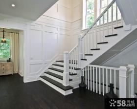 简约装修设计室内楼梯图欣赏2015大全