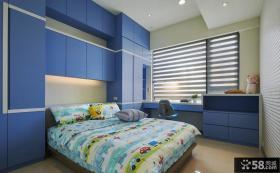 简约风格儿童房设计效果图片