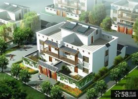 新中式风格别墅效果图