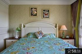 美式家居卧室灯效果图
