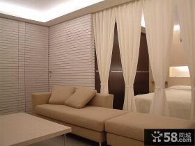 现代小复式室内装修图片