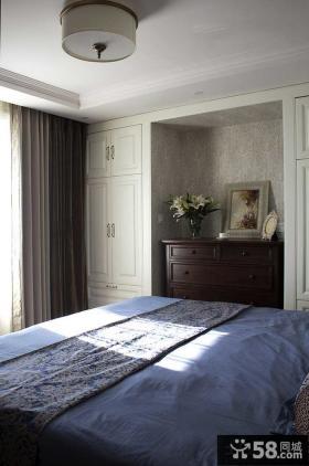 美式家装设计室内卧室图片大全