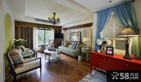 美式风格家居三居室图片欣赏大全