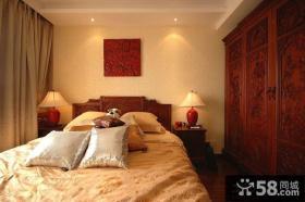 10平米仿中式风格卧室装修
