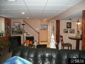 家装复式室内吊顶图片欣赏
