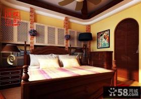 美式田园卧室装修效果图2013