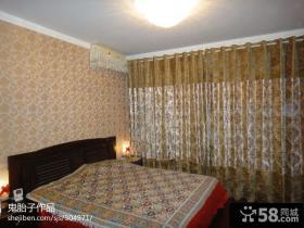 小户型卧室壁纸装修效果图片
