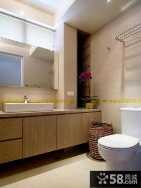 简约经典风格复式卫生间设计