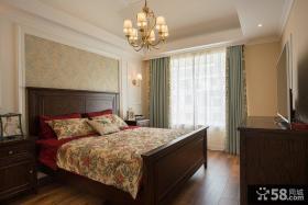 美式经典卧室家居装修