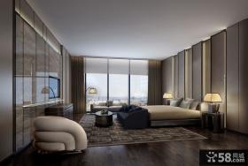 郑中设计作品_通盈中心复式公寓室内设计