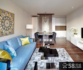 现代风格时尚一居室设计