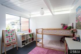 混搭风格室内小户型两室两厅儿童房装修效果图