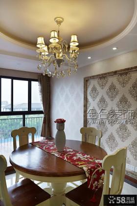 欧式水晶餐厅吊灯图片