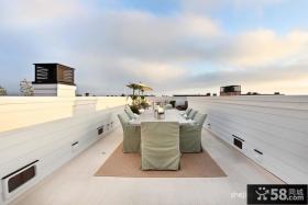 露天阳台装修效果图 阳台餐厅装修设计图片