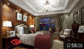 古典欧式主卧室吊顶效果图