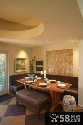 14万打造豪华欧式风格复式客厅博古架装修效果图
