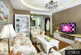 简欧风格两居室设计装修效果图