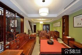 中式装修客厅吊顶效果图