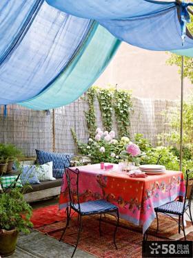 阳台装修效果图大全2012图片 露天阳台装修设计