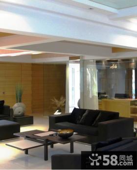 现代风格装修客厅沙发图片