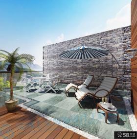 别墅露天阳台设计图