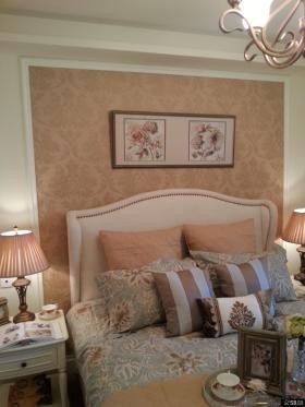 卧室床头装饰画图片2014