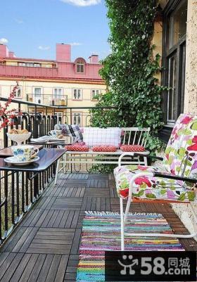 阳台装修装饰设计图片