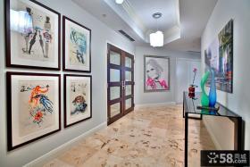 现代家居设计玄关装饰
