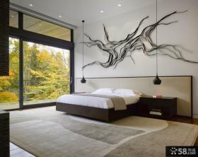 豪华装修复式卧室效果图