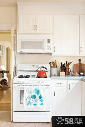 小户型小厨房装修效果图大全2013图片