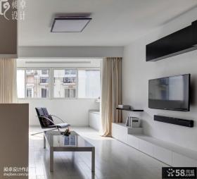 简约风格小户型客厅装修效果图欣赏
