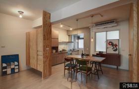 日式风格装修餐厅图片欣赏