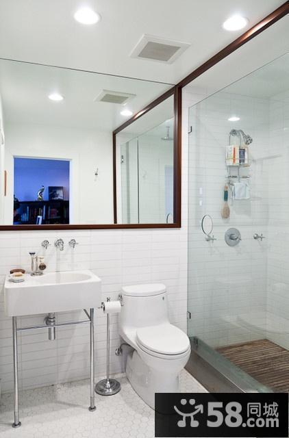 小户型欧式卫生间装修效果图