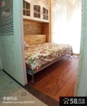 欧式田园风格小卧室装修效果图