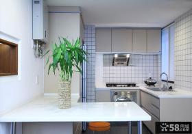 家装餐厅厨房效果图片