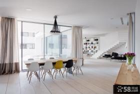 现代时尚复式家居装修案例