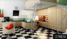 小复式家居厨房装修效果图