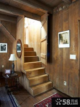 实木楼梯设计图大全