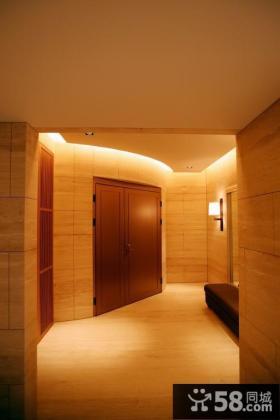 简中式豪宅玄关设计