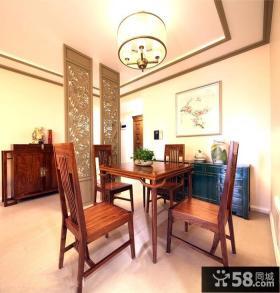 中式风格家居餐厅装修图欣赏