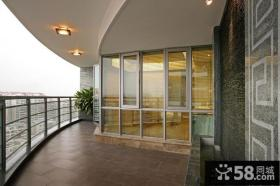 家庭室外大阳台装修效果图