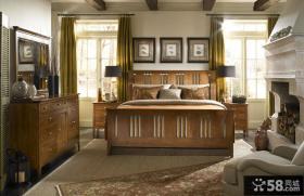 美式风格卧室装修图欣赏大全