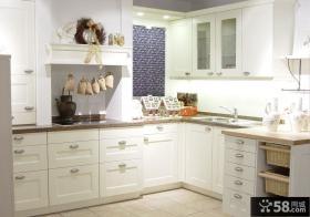 欧式厨房整体厨柜图片欣赏