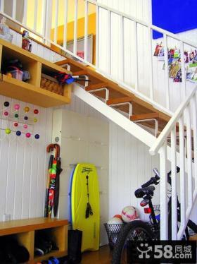 复式楼楼梯设计效果图欣赏