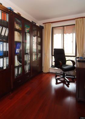 美式风格家居设计书房装修效果图