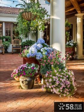 别墅内花园设计