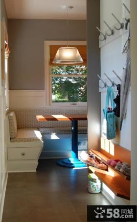 客厅玄关鞋柜装修效果图欣赏